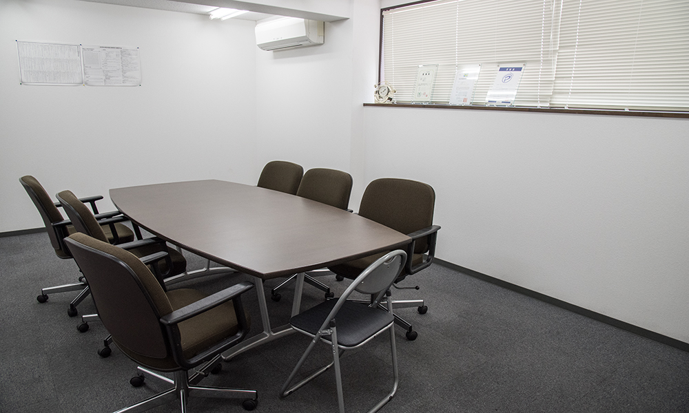 西脇営業所・物流センター 会議室