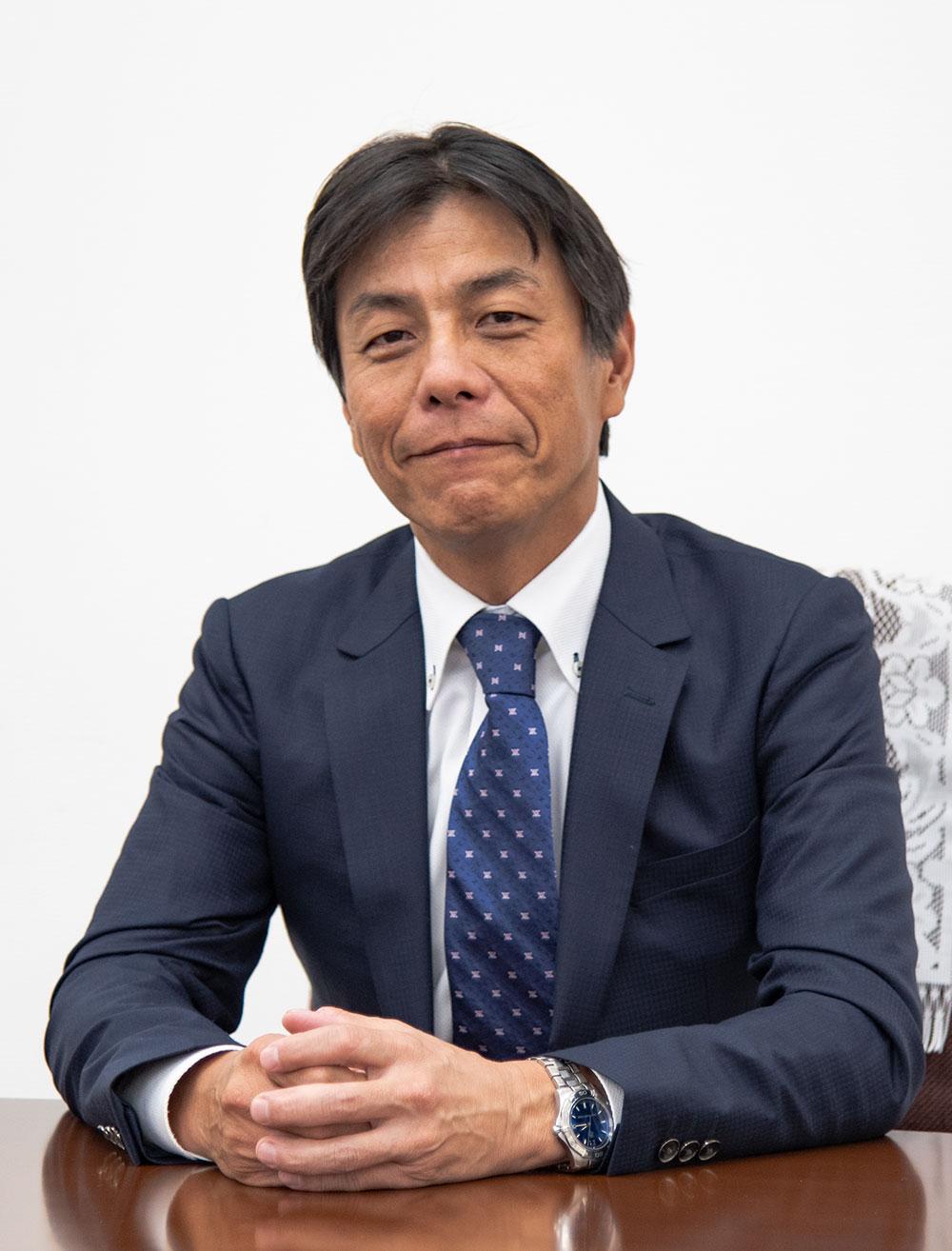 代表取締役 田中靖雄